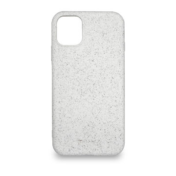 Screenor biohajoava EcoStyle Apple iPhone 12 Mini -suojakuori, Oak White