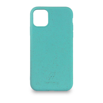 Screenor biohajoava EcoStyle Apple iPhone 12 Mini -suojakuori, Palm Turquoise