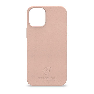 Screenor biohajoava EcoStyle Apple iPhone 12 Mini -suojakuori, Rose White