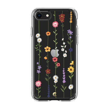 Spigen Ciel Apple iPhone 7/8/SE 2020 suojakuori, Flower Garden