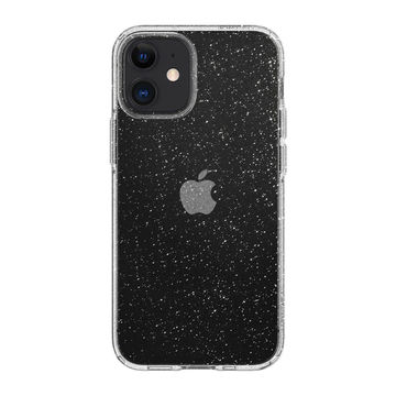 Spigen Liquid Crystal iPhone 12 Mini pehmeä suojakuori, Glitter Crystal