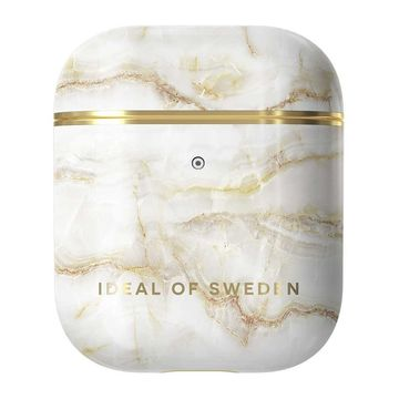 iDeal of Sweden Airpods 1 & 2 -suojakotelo, Golden Pearl Marble