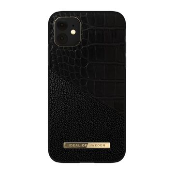 iDeal of Sweden iPhone 11 / XR Croco Fashion Case Atelier, Nightfall