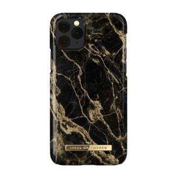 iDeal of Sweden iPhone 11 Pro / XS / X Fashion Case, Golden Smoke Marble