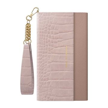iDeal of Sweden iPhone 11/XR Signature Clutch -käsilaukku, Misty Rose Croco