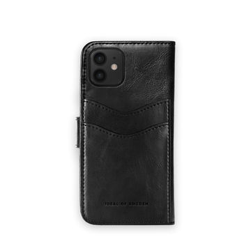 iDeal of Sweden iPhone 12 Mini Magnet Wallet+, Musta