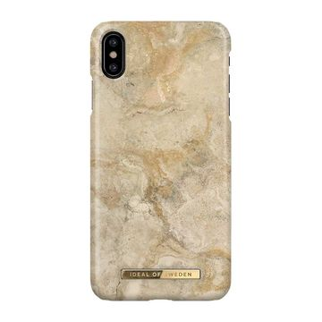 iDeal of Sweden iPhone XS Max Fashion Case, Sandstorm Marble