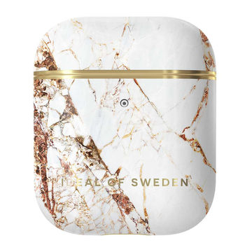 iDeal of Sweden Airpods 1 & 2 -suojakuori, Carrara Gold