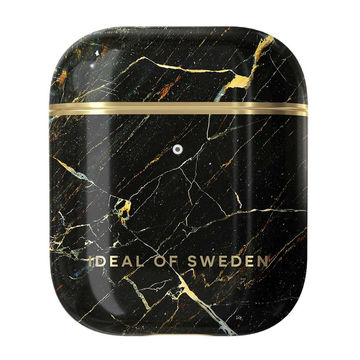 iDeal of Sweden Airpods 1 & 2 -suojakuori, Port Laurent Marble