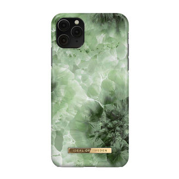 iDeal of Sweden iPhone 11 Pro Max Fashion Case, Crystal Green Sky