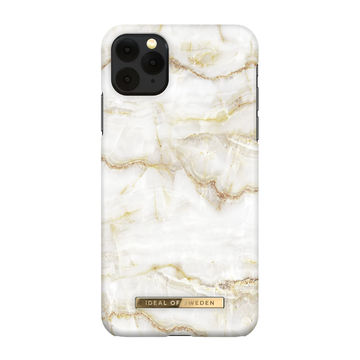 iDeal of Sweden iPhone 11 Pro Max Fashion Case, Golden Pearl Marble