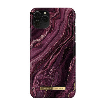 iDeal of Sweden iPhone 11 Pro Max Fashion Case, Golden Plum