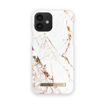 iDeal of Sweden iPhone 12 Mini Fashion Case, Carrara Gold