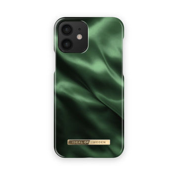 iDeal of Sweden iPhone 12 Mini Fashion Case, Emerald Satin