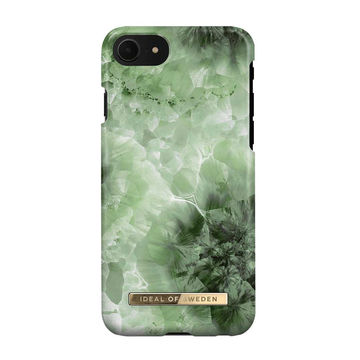 iDeal of Sweden iPhone 6/6S/7/8/SE 2020 Fashion Case, Crystal Green Sky