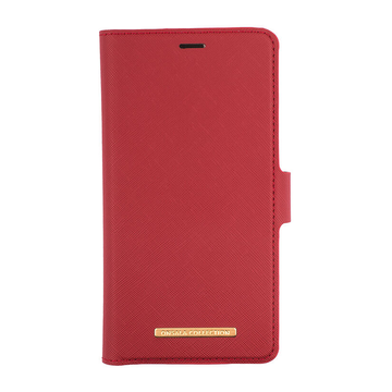 iPhone 11 Pro Max Onsala Collection Fashion Edition -lompakko, Saffiano Red