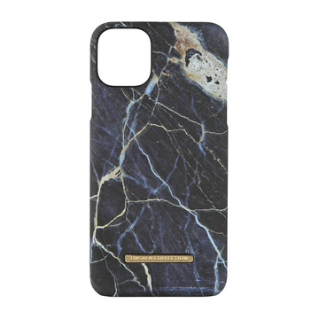 iPhone 11 Pro Max Onsala Collection Fashion Edition -suojakuori, Black Galaxy Marble