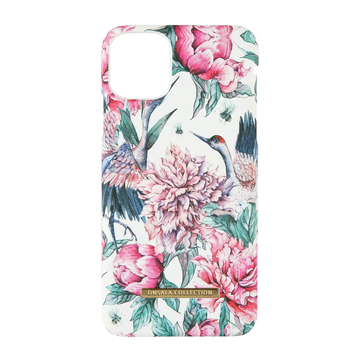 iPhone 11 Pro Max Onsala Collection Fashion Edition -suojakuori, Pink Crane