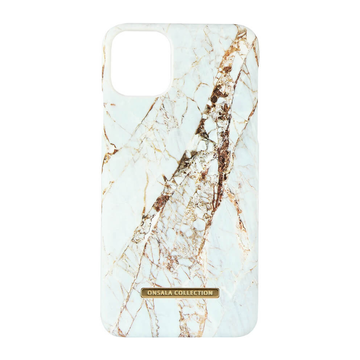 iPhone 11 Pro Max Onsala Collection Fashion Edition -suojakuori, White Rhino Marble