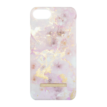 iPhone 6 / 6S / 7 / 8 / SE 2020 Onsala Collection Fashion Edition -suojakuori, RoseGold Marble