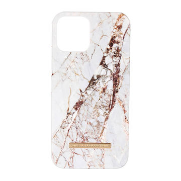 iPhone 12 / 12 Pro Onsala Collection Fashion Edition -suojakuori, White Rhino Marble