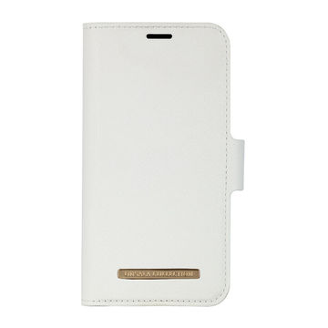 iPhone 12 Mini Onsala Collection Fashion Edition lompakkokotelo, Saffiano White