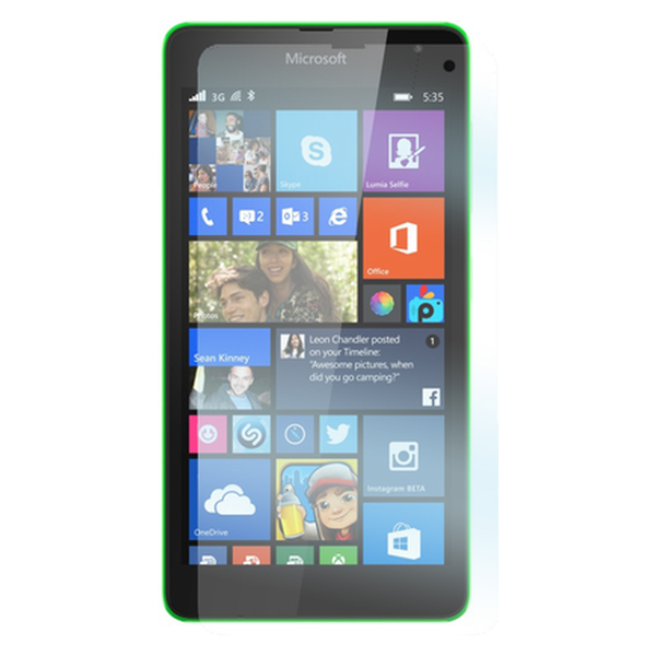 Microsoft Lumia 535 panssarilasi, Tempered Glass